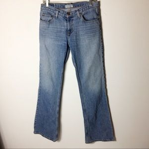 American Eagles Blue 6 Favorite Fit Flare Jeans